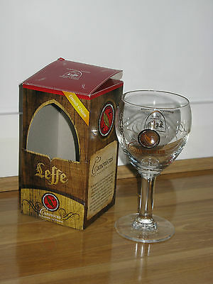 Leffe beer glass Canonicus 25cl limited edition original box new