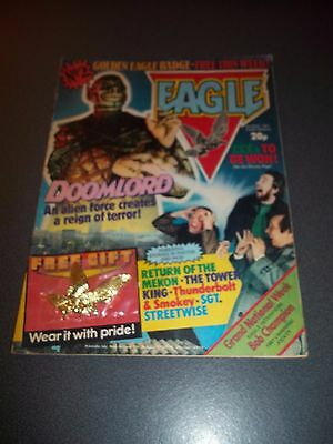Eagle Comic Magazine #2, With Free Gift!, 1982, UK, See Others & Combine Postage