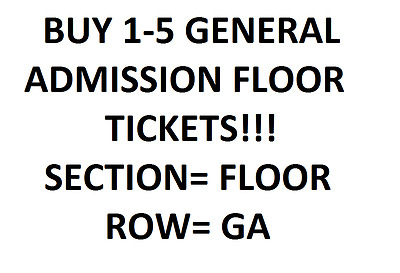 1,2,3,4 Lady Gaga General Admission Floor Tickets T-Mobile Arena Las Vegas 12/16