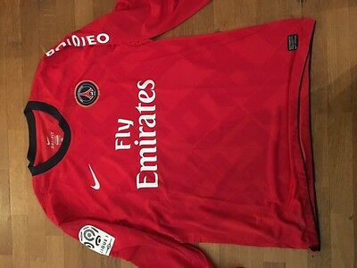 Maillot collector PSG 40 ans porté Sammy TRAORE manches longues