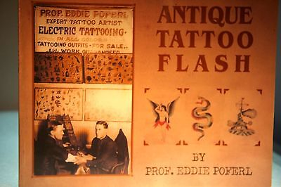 Vintage Tattoo Design Book Collectible Designs - Very Early Art - Collectable