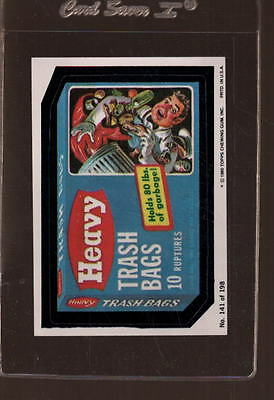 1980 Wacky Packages Stickers #141 Mint *974116