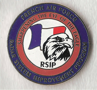 pin's militaire FRENCH AIR FORCE RSIP à VOIR!!!