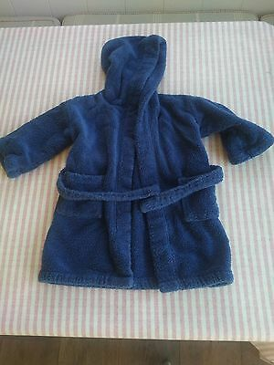 Boy's Little White Company dressing gown