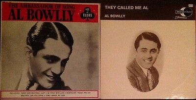 AL BOWLLY TWO LPs AMBASSADOR OF SONG & THEY CALLED ME AL