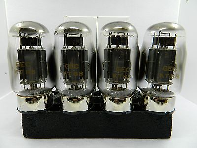 KT88 GEC NOS Match Quad 4 Tubes  Specially made For Western Electric By SHUGUANG