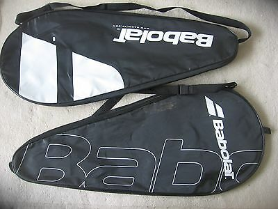 2 X Babolat Tennis Racket Covers , Pure Drive Etc , One Size Fits All