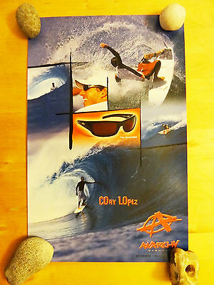 Small Corey Lopez Surf Poster Anarchy Eyewear Sunglassess Surfing Advertising