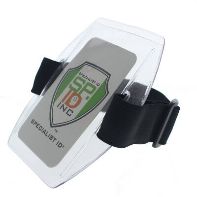 Visor Fuel Card Holder with Elastic Strap Great for Fleets by Specialist ID