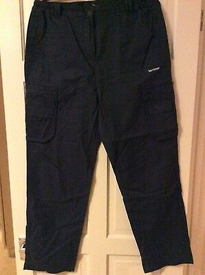 womans size 14 activer Karrimor walking trousers