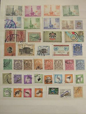 Arabia stamp collection2 from an old album