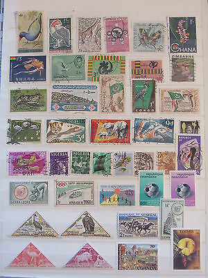 Africa stamp collection2 from an old album