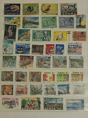 Africa stamp collection3 from an old album