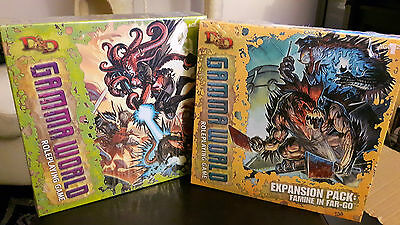 *Brand New And Sealed!*Gamma world CORE BASE SET+EXPENSION PACK FAMINE IN FAR-GO