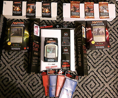*NEW&USED*Magic The Gathering Mixed Lot / Commander,booster,Promo , 96 Rares +++