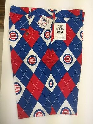 Chicago Cubs Loudmouth Shorts, Mens Size 36, NEW in Loudmouth Package
