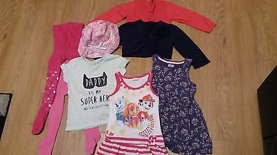 Baby girls clothes bundle age 12/18 months