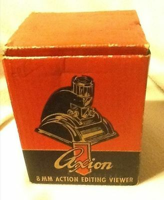 Vintage Axion 8MM Action Editing Viewer In Original Box