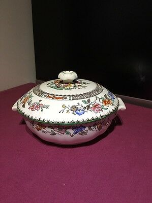 Copeland Spode Chinese Rose Lidded Tureen 6.25""