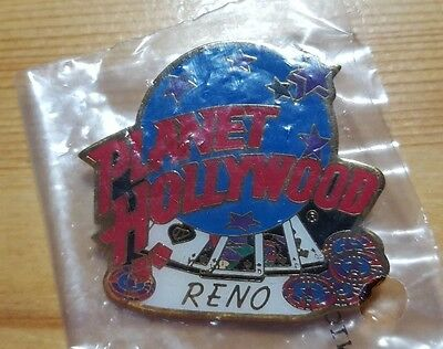 Planet Hollywood Reno Playing Cards and Chips Pin