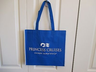 "Princess Cruise Line Tote/Travel/Shopping Bag - 13.25"" x 15"" BRAND NEW"