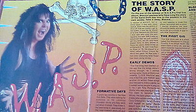 WASP 4 Page Article from 1987 The Story of...
