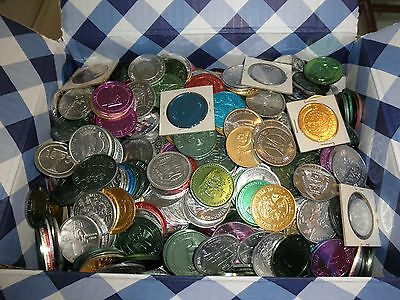 13 Pounds Of Mardi Gras Doubloons (about 1000) New Orleans Throw Doubloons