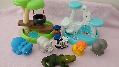 ELC / Early Learning Centre Happyland Zoo Playset Bundle!