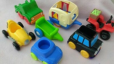 ELC / Early Learning Centre Happyland Vehicles Bundle!