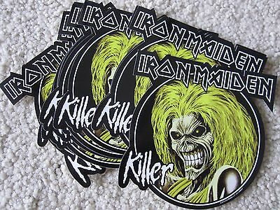Lot of 10 Iron Maiden stickers