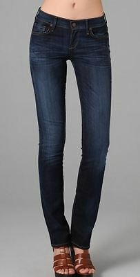NEW Women's Citizens of Humanity Ava Low-Rise Straight Leg Jeans Size 27