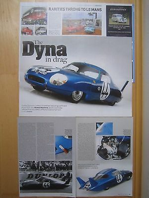 CD-Panhard LM64 Le Mans racer Report & Panhard Dyna Z17 / Dynamic 140 cuttings