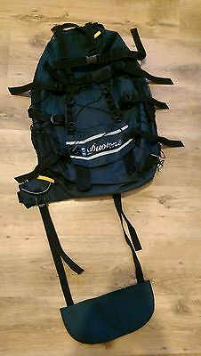 Backcountry off piste snowboard ski touring backpack
