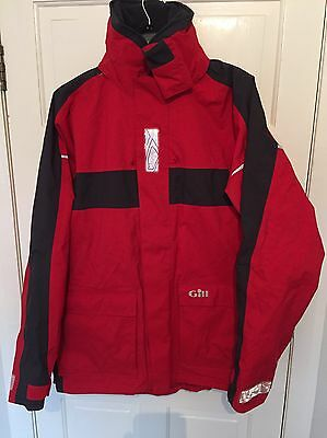Gill Men's Coast Jacket Red/Graphite