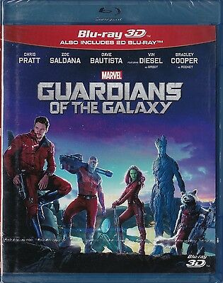 Guardians of the Galaxy Blu-ray 3D + Blu-ray _ New sealed