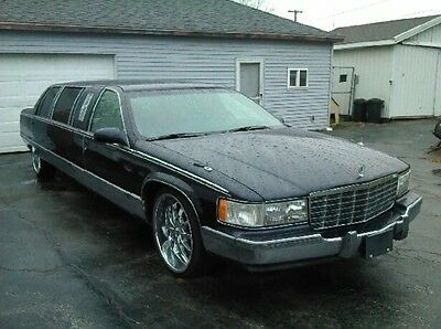 1996 Cadillac Fleetwood  1996 cadillac fleetwood brougham limo low miles excellent condition 1997 1998