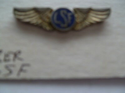 airline/flying small lapel wing LSF older style