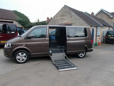 2011 Volkswagon Caravelle 140 Se Automatic 5 Seats + Wheelchair - Disabled Wav