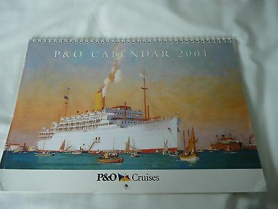 Pictures Reproduced from Paintings of Ships 1837 - 1971 in 2 P+O Calendar 2001/2