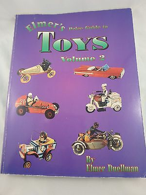 1996 Elmer's Price Guide To Toys Vol. 2 Softcover - Duellman