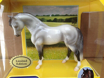 Breyer Icicle Grey Glossy Welsh Pony #1702 SR Limited Edition bouncer mold [--]