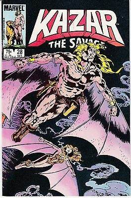 Ka-Zar the Savage #28 (Oct 1983, Marvel)