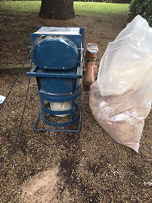 Wood dust extractor (axminister power tools) double motor large capacity.