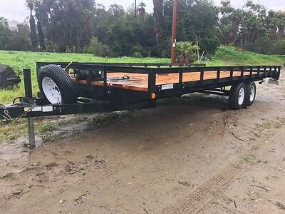 22 ft Trailer with Winch
