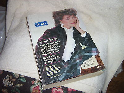 SEARS 1982 Fall & Winter  Catalog