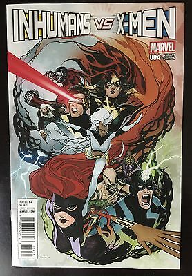 Inhumans VS X-Men #4 Ryan Sook 1:50 Variant IVX Marvel NOW