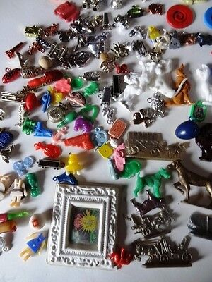 Cracker jack   collection  of Plastic Toys  over 100 pieces