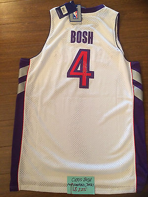 Toronto Raptors Chris Bosh Autographed Nba Jersey New With Tags