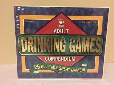 Adult Drinking Games Compendium 25 All Time Great Games Vintage 1997 New  Sealed