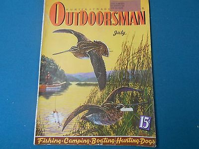 Hunter Trader Trapper/outdoorsman Magazine July 1940, Traps, Trapping Hunting